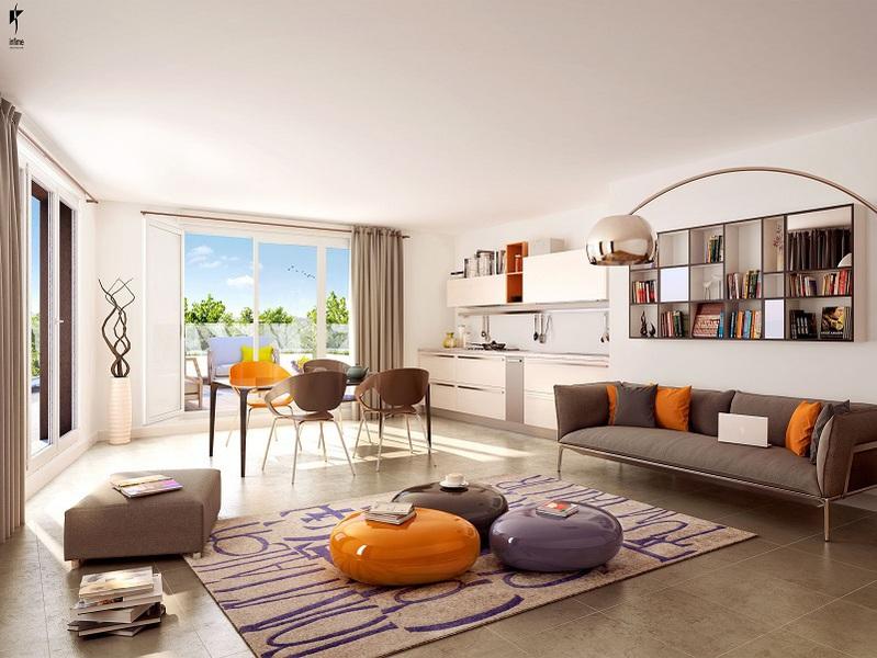 Appartement neuf, 35,1 m² Idéal…