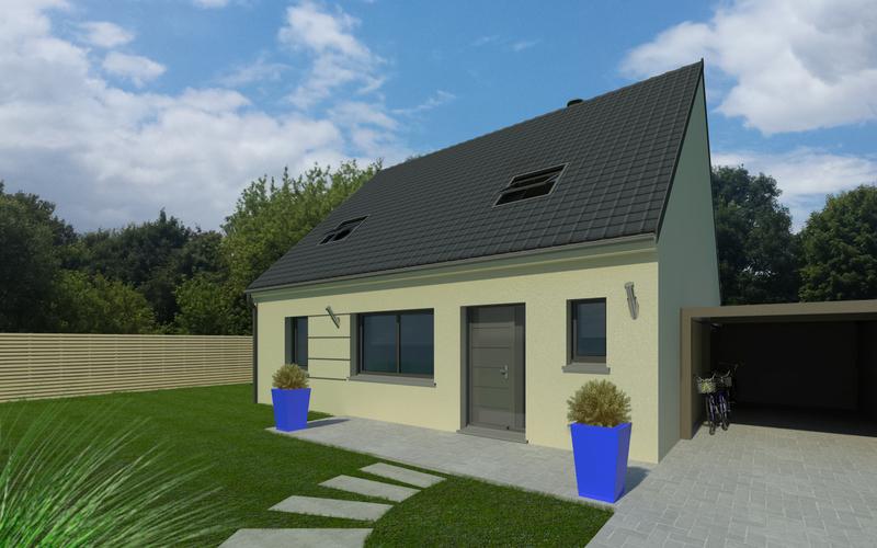 Maison 229600 344400 cernay l s reims 51420 for Constructeur maison witry les reims