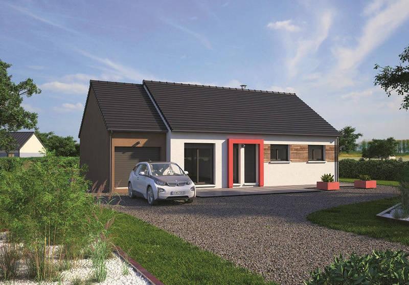 Maison neuve, 80 m² Archi…