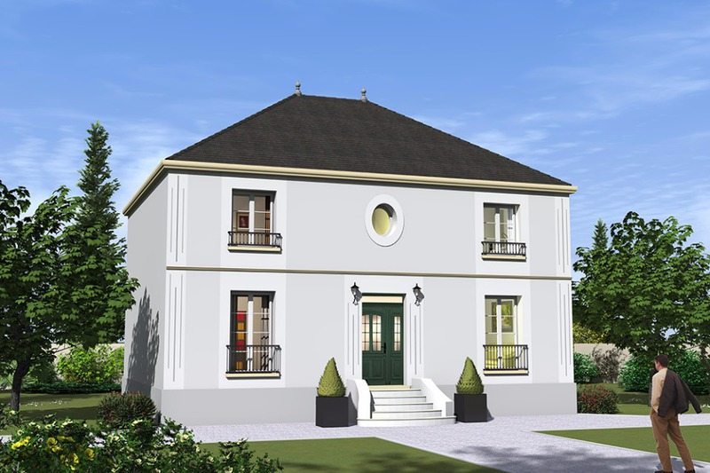 Mezzanine 2 pieds immojojo for Maison neuve classique