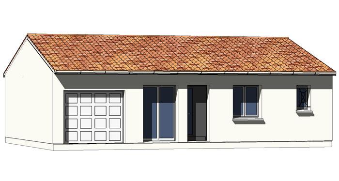 Maison contemporaine blanquefort 33290 immojojo for Avantage maison neuve