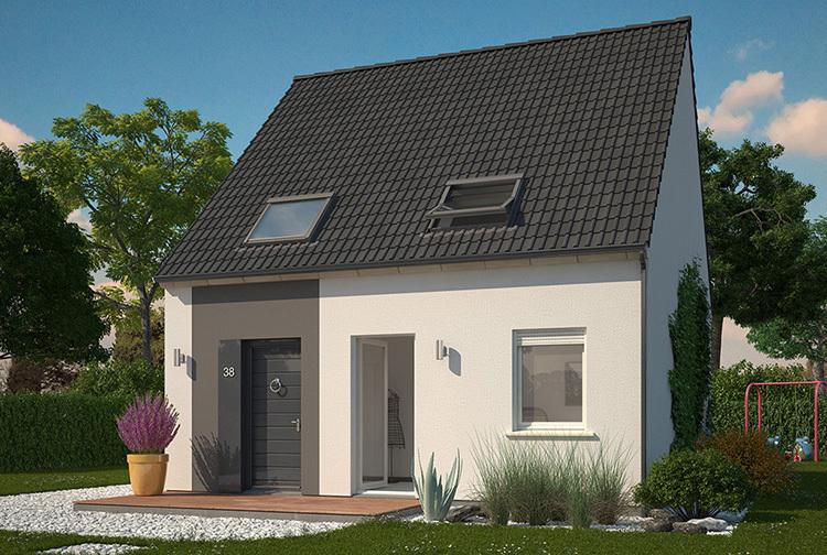 Maison neuve, 83 m² Deven…