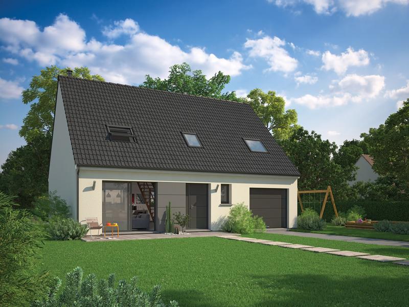Maison, 86 m² Proje…